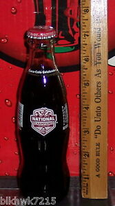 2016 ALABAMA BCS NATIONAL FOOTBALL CHAMPIONS 2015 8 OZ COCA COLA BOTTLE