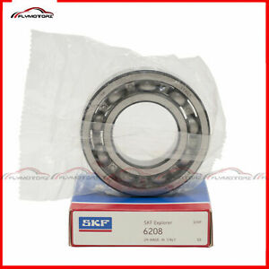 1 Pcs Skf 6208 Open No Seals Deep Groove Ball Bearing Made In Italy 40idx80x18mm