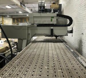 2003 Biesse Rover 24 Ft Xl 4 X 20 Table Cnc Router W Atc Boring
