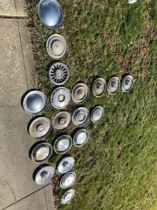 Buy All Of My Vintage Hubcaps Dodge Chevrolet Mercury Pontiac Buick Oldsmobile
