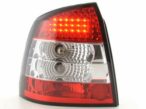Opel Astra G Clear Led Tail Lights Lamps 9 1998 10 2005 3 5 Door Hatchback