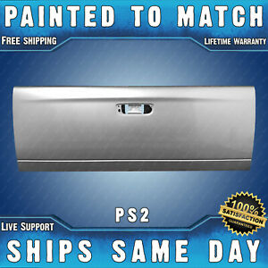 New Painted Ps2 Silver Tailgate For 2002 2009 Dodge Ram Pickup 1500 2500 3500