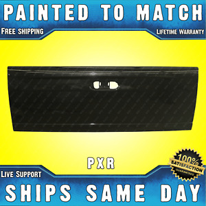 New Painted Pxr Black Steel Tailgate For 2002 2008 Dodge Ram 1500 2500 3500