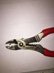 Snap On Pwcs7acf Red Wire Striper Crimper Cutter 7 New