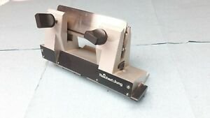 Leica Cryostat Microtome Solid Knife Blade Holder Cm1800 Cm1510 Cm1850 Jung