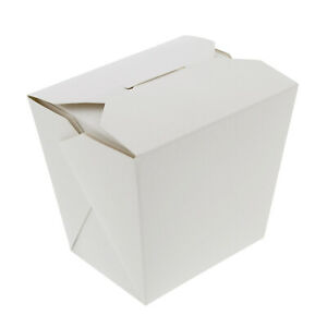 Spec101 Disposable 50pk Chinese Food Boxes Chinese Food Containers 16oz