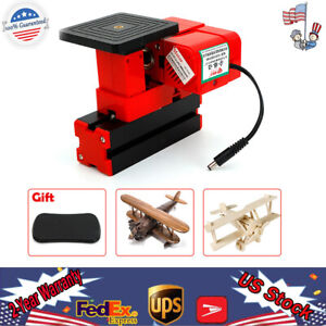 Mini Wood Jig saw Sawing Machine Diy Woodworking Model Making Education 24w _hun