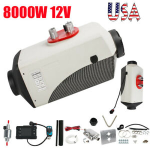 8kw 12v Air Diesel Fuel Heater For Car Truck Boat Bus Vehicles 10l Tank Remote
