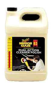 Meguiar s Mirror Glaze 83 Professional Bsp Dual Action Cleaner polish Gallon