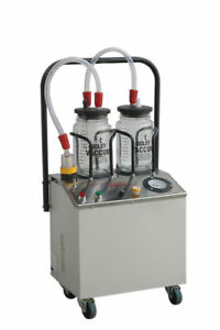 Suction Machine 1 4 Horse Power With Double Unbreakable Jars Ent Dental