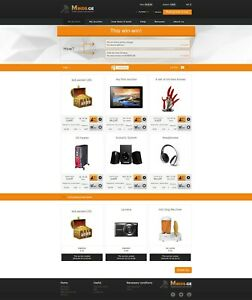 Penny Bids Auction Online Shop Powerful Software Engine Website Business For