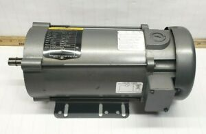 New Baldor 1 Hp Dc Electric Motor 90 Vdc 56c Frame 1750 Rpm Tefc Enclosure