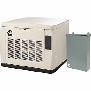 Cummins Quietconnect Home Standby Generator W transfer Switch 20 Kw Lp 18 Kw Ng