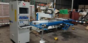Masterwood Project 416k Cnc Router Machine Center Working 10 x53 4 3 Can Ship