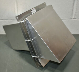 Field Controls Vent Cap Hood Swh 4 4 Duct Aluminum Class B Vent Double Wall