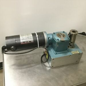 Camco 250ph20 330 Rotary Indexer Motor Worm Gear 1 3 Hp 20 1 90vdc