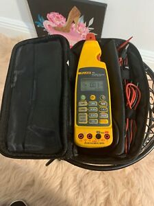 Fluke 773 Milliamp Process Clamp Meter Mint Screen Protector Soft Case More
