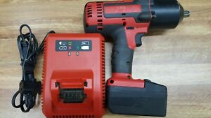 Snap on Ct8850 1 2 Impact Wrench 18v W Battery Charger Bag Tested