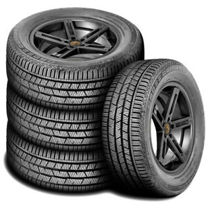 4 New Continental Crosscontact Lx Sport 235 55r19 101v Ar A S All Season Tires