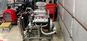 8 Ba Ford Mercury 1949 1953 Blown Flathead Engine Supercharged 1932 Hot Rod