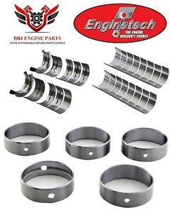 Enginetech Oldsmobile V8 260 307 350 403 Rod Main And Cam Bearings 1978 1990