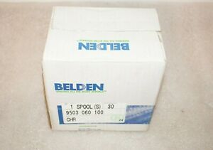 Belden Multi conductor Cable 24awg 3pr Shield 30m 100ft P n 9503060100