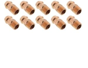 lot Of 10 4 Propress X 4 Male Adapters Propress Copper Fittings press Xl c