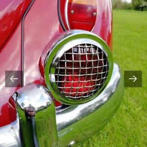 Vintage Red Stop Light With Mesh Style Grills Fits Any Volkswagen