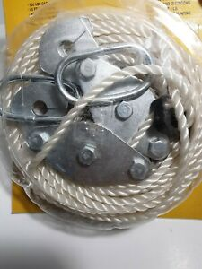 Rope Hoist 65 Ft Poly Rope