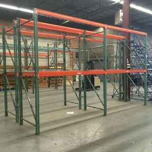 Teardrop Pallet Racking Starter Bundle Free Wire Decking