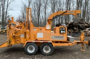 2007 Brush Bandit 1890xp With Hydraulic Winch 3263