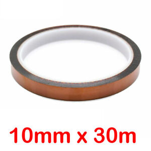 10mm X 30m Heat Resistant Tape Polyimide Masking Tape For Sublimation Printing