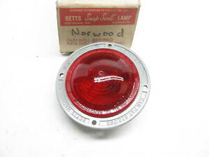 Vintage Betts B60 Red Clearance Side Marker Light