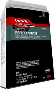 Bondo Fiberglass Resin 00404 0 9 Gallon