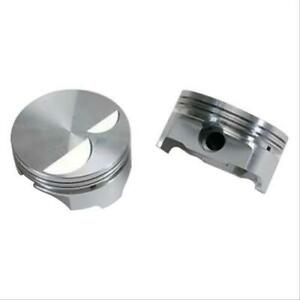 Trick Flow Pistons Forged Dish Top 4 030 Bore 1 16 1 16 3 16 Ford 302 Setof8