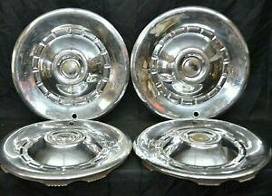 1953 Chrysler Windsor Saratoga Hubcaps New Yorker Wheel Cover Set Of 4 Mopar Oem
