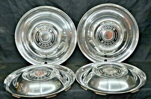 Dodge 1951 Hubcaps Set Of 4 15 Coronet Meadowbrook Royal Oem Mopar
