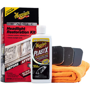 Meguiar s Basic Headlight Restoration Kit G2960 Kit