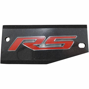 2013 16 Chevy Sonic Rs Rear Emblem Red New Oem Gm Nameplate 95060344