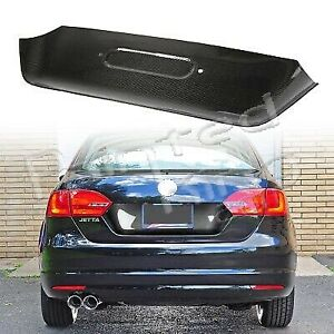2011 2014 Fit For Volkswagen Jetta Mk6 Pre Facelift License Plate Cover Carbon
