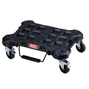 Milwaukee 48 22 8410 Packout Modular Storage Dolly With Quickstop Loading Lever
