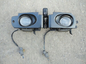 Jdm Honda Prelude 92 96 Bb1 Bb4 Clear Fog Lights Oem