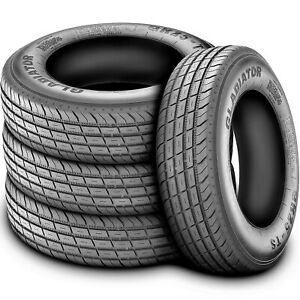 4 Tires Gladiator Qr25 Ts St 225 75r15 Load E 10 Ply Dc Trailer