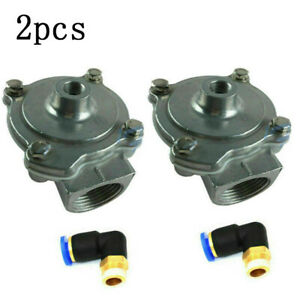 2pc 1 Tyre Tire Changer Part Bead Blast Air Control Valve For Corghi Accu Turn