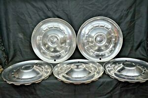 1953 Chrysler Windsor Saratoga Hubcaps New Yorker Wheel Cover Set Of 5 Mopar Oem