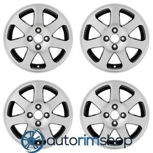 New 15 Replacement Wheels Rims For Honda Civic 1999 2005 Set Machined With Blac