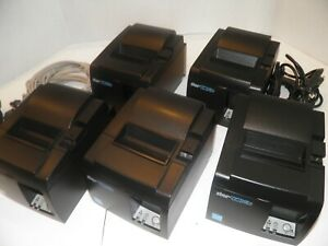 Star Tsp100 Thermal Pos Receipt Printer Tsp143iiilan W Power Cord Ethernet