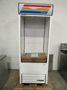New Never Used True Tac 30 ld 30 Vertical Open Air Cooler W 5 Levels 115v