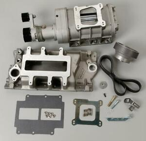 Weiand Supercharger System Roots 177 Series Satin Chevy Small Block Kit