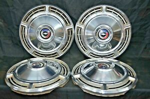 1968 68 Chevy Chevrolet Chevelle Hubcaps Hub Caps Wheel Covers Used Set Of 4